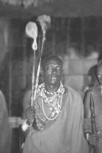 african man b&w