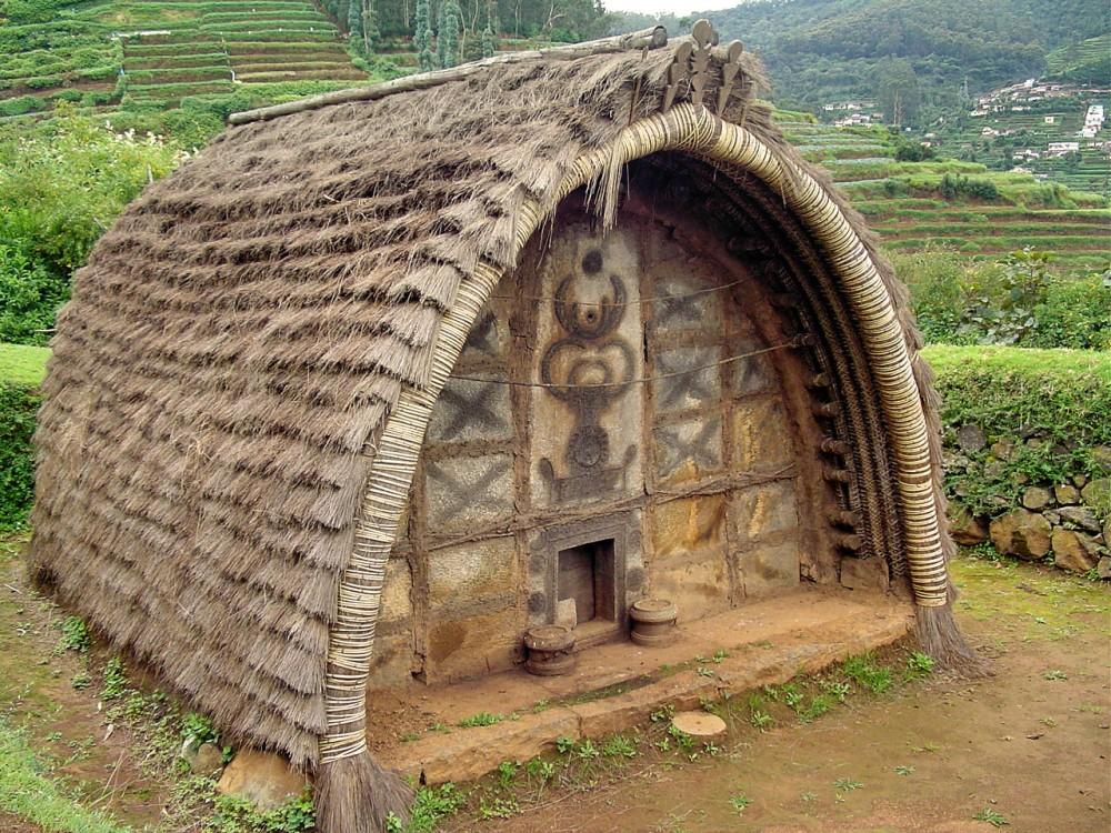 native hut